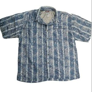The North Face Patterned Button Down Short Sleeve